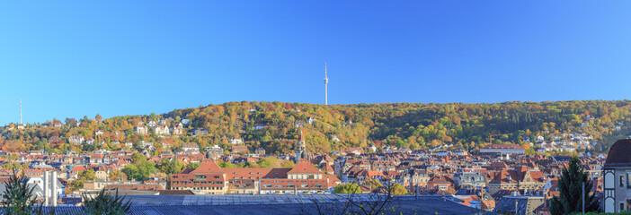 Stuttgarter Süden in der Herbstsonne