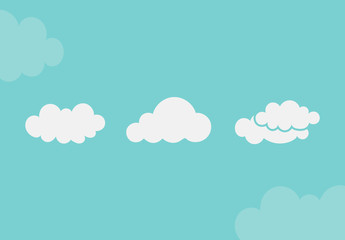25 Hand Drawn Clouds