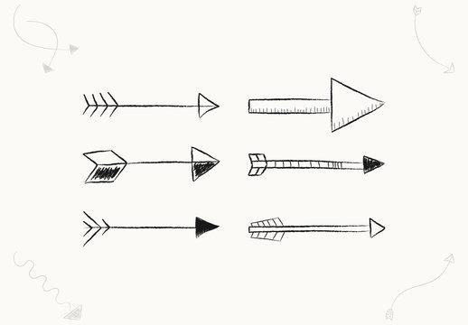 40 Hand Drawn Arrows