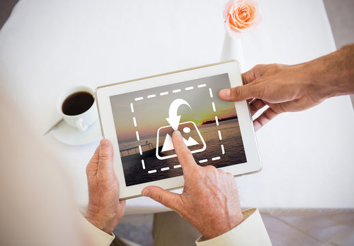 Seniors and Tablet Mockup 1