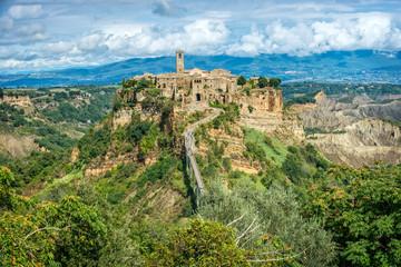Wall Mural - Civita di Bagnoregio Tuscany Italy Landscape