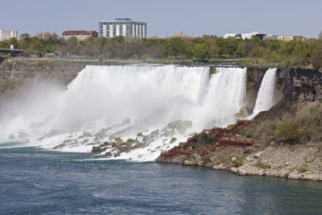 Beautiful image of the amazing Niagara waterfall US side