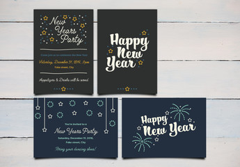 New Year's Invitations