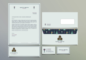 Winemaker Stationery Set