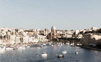 View over Kalkara Malta