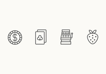 50 Gambling and Casino Icons