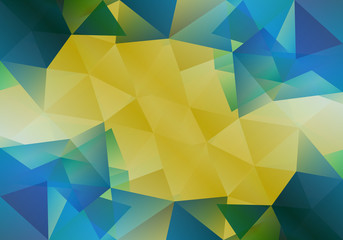 Geometric background with triangular polygons. Abstract design. Vector illustration.