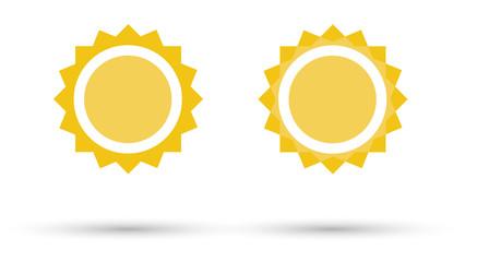 Sun Icon - Sunshine - Sunny Symbol