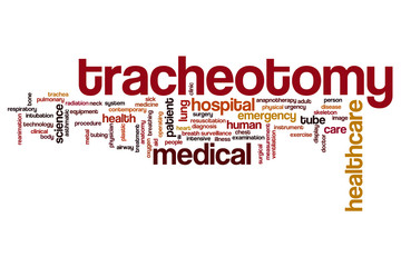 Tracheotomy word cloud