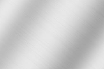 Metal texture background. Macro photo of brushed aluminium.
