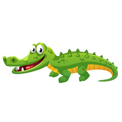 Crocodile cartoon style