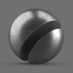 Bright Oxydized Steel