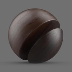 Chocolate brown beech wood