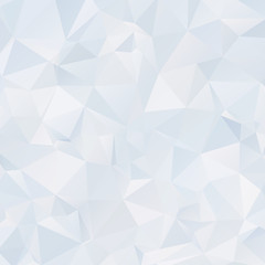 Abstract light polygonal background. Ice back