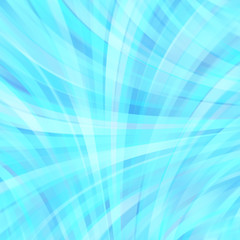 Abstract blue background with smooth lines. Color waves, pattern, art, technology wallpaper, technology background. Vector illustration. Blue color.