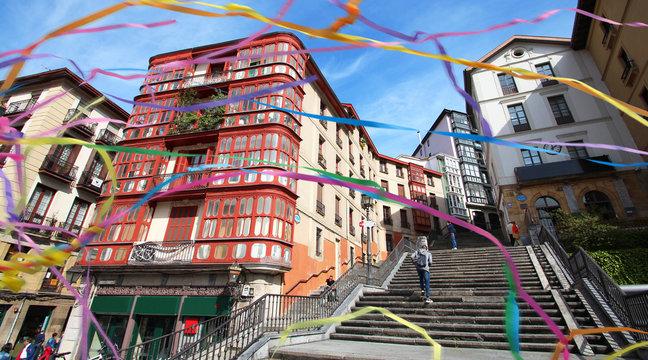 Bilbao (Espagne) / Plaza Unamuno - Casco viejo