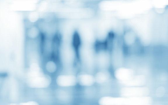 medical blue blurred background