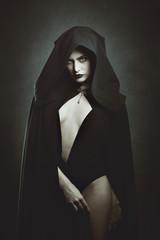 Sensual vampire queen