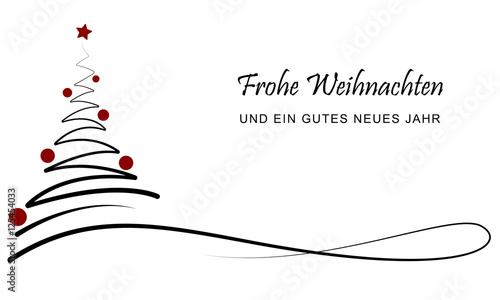 weihnachten banner frohe weihnachten schwarz rot. Black Bedroom Furniture Sets. Home Design Ideas
