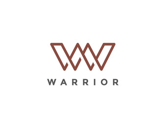 Letter W Logo Monogram vector Linear Business Luxury Fashion
