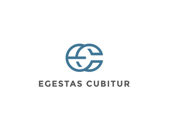 Letters E C Logo Monogram vector Linear Business Luxury Fashion