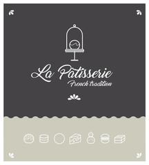 identité graphique, identité visuelle, logo, marque, pâtisserie, pâtissier, nourriture, chouquette, gâteau
