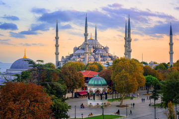 Blue Sultanahmet Mosque, Istanbul, Turkey