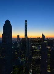 Park Avenue 462 bei Sonnenaufgang
