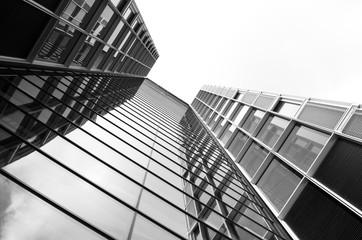 Hochhausglasfassade