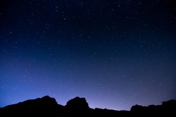 Nuit étoilée dans les Aravis