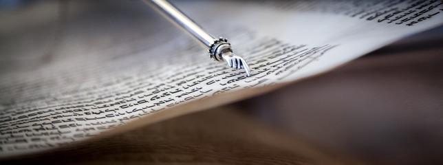 Die Torarolle wird gelesen
