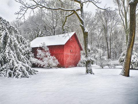 Snow Barn 2