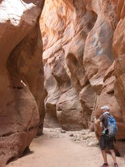 slot canyon, Grand Staircase-Escalante, Utah, USA