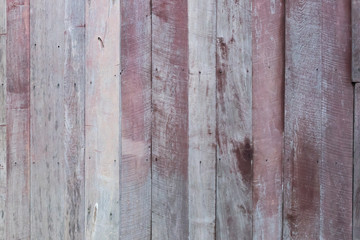 Old red wood background. Rustic style wallpaper.