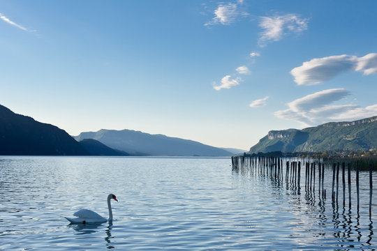 Lac du Bourget, Aix-les-Bains, Savoie