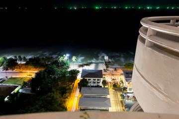 Night view Pattaya jomtien Thailand