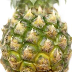 closeup of pineapple fruit