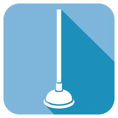 plunger flat icon