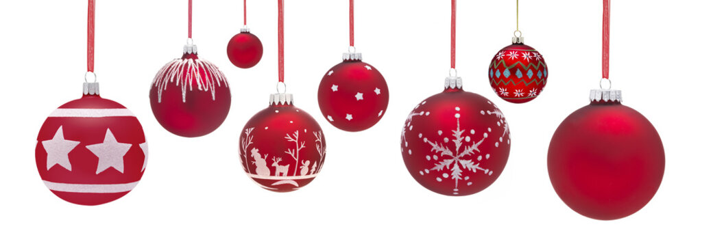 Group of Baubles hanging