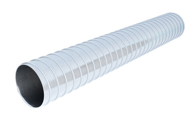 Duct pipe isolated on white background. 3d rendering