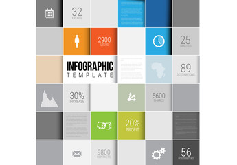 Tile Element Infographic