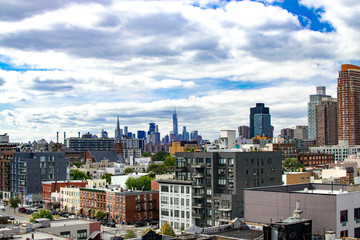 View of North Queens with Lower Manhattan in the Background