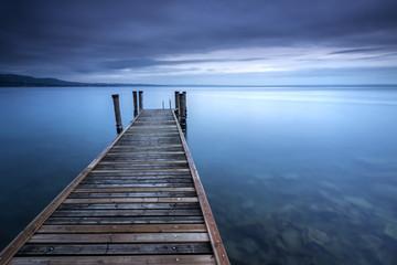Fototapete - Stille am See