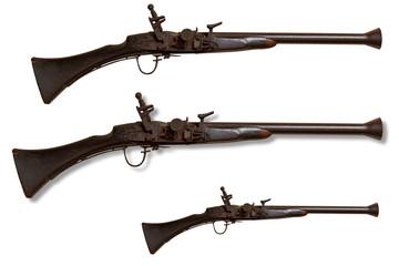 Hunting gun.