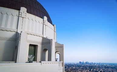 Telescope at Griffith Observatory Los Angeles