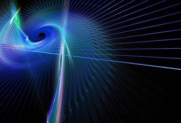 abstract fractal background, texture, 2D illustration, spiral