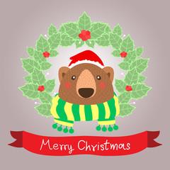 Bare christmas card