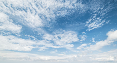 Canvas Prints Heaven Sky and clouds tropical panorama