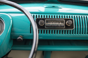 Radio from an old van