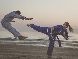 Kung fu random kick.